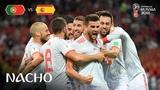 NACHO Goal - Portugal v Spain - MATCH 3