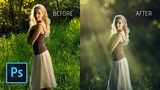 Photoshop cc Tutorial How to add light ray in photoshop light rays in photoshop
