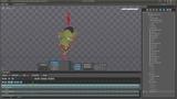 Spine Demo Reel - 2D Skeletal Animation - Katzarian Enemies - Captain Nathan Game