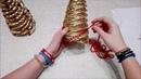 Choinka z wikliny papierowej ( How to make a Christmas tree)