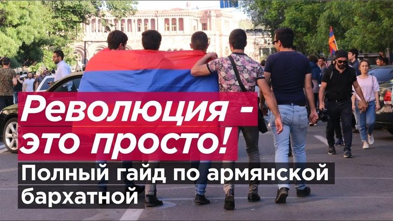РЕВОЛЮЦИЯ – ЭТО ПРОСТО! Полный гайд по армянской бархатной. Романов Newsader
