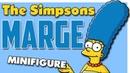 Мардж Симпсон Минифигурка Лего Обзор лего минифигурки Мардж Симпсон Lego Minifigure Marge Simpsons