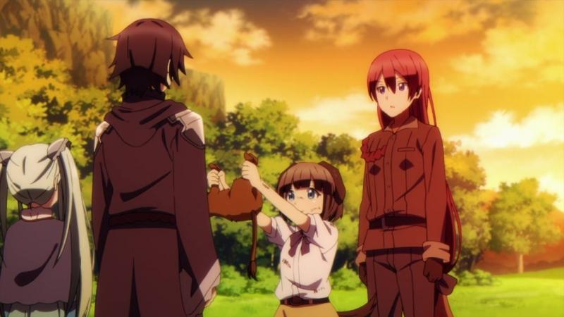 [AniPain] Death March kara Hajimaru Isekai Kyousoukyoku / Рапсодия о долгом странствии по иному миру [10] AniDub