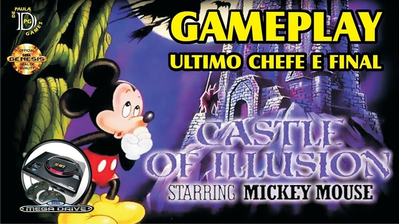 Castle of Illusion MEGA DRIVE Gameplay Ultimo Chefe e Final