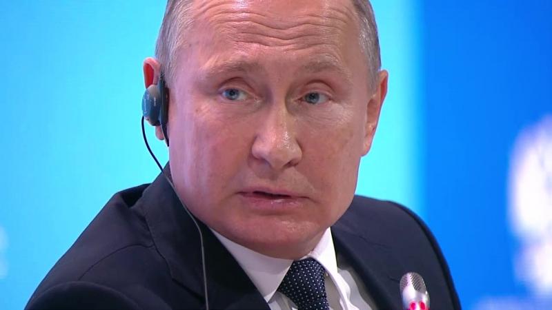 Путин выступил на пленарном заседании второго Международного форума