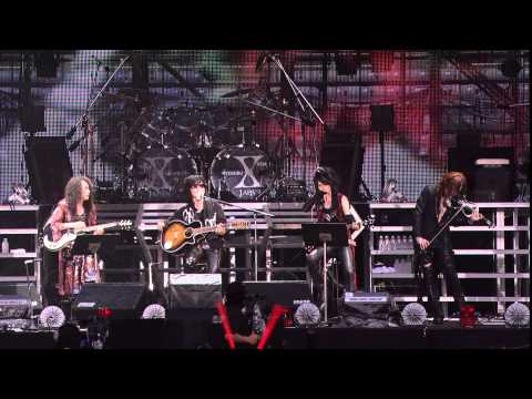 Forever Love(TOSHI.PATA.HEATH.SUGIZO) (HD) - 412 2010.08.15 X JAPAN WORLD TOUR Live in YOKOHAMA