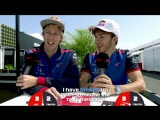 Toro Rosso's Brendon Hartley and Pierre Gasly | Grill the Grid: Truth or Lie?