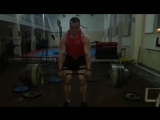 Иван Макаров (Грузия), становая тяга без экипировки - 350 кг на 3 раза 💪🏋