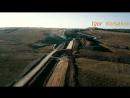 Крымский(05.08.2018)мост! Колоссальное строительство! Ж_Д от ст.Багерово до мост