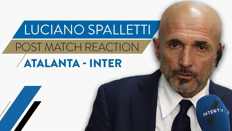 ATALANTA 4-1 INTER | Luciano Spalletti Interview: We'll learn from today