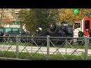 ДТП с перевертышем на улице Димитрова