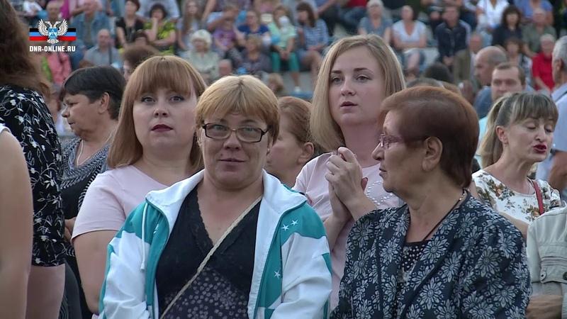 Денис Пушилин поздравил жителей пгт Новый Свет с 60-летием Старобешевской ТЭС