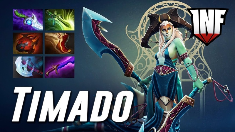 Timado Naga Siren CORE CARRY | Dota 2 Pro Gameplay