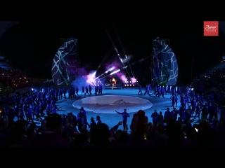 Артек. Открытие 4 смены 2018 на Артек-Арене