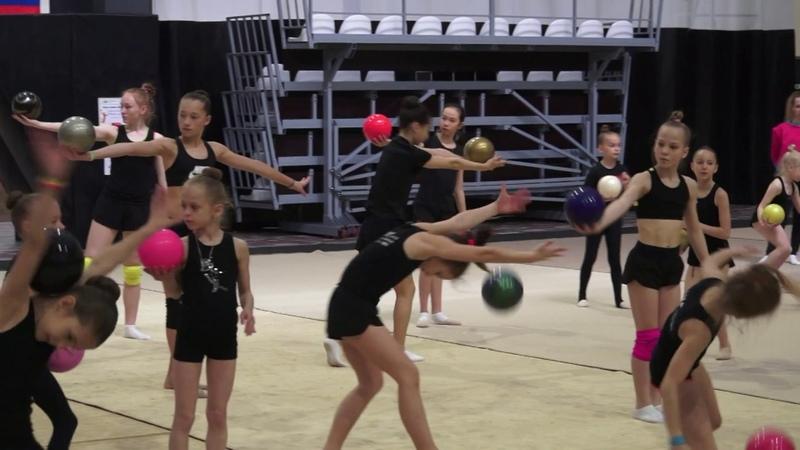 Мастер класс Олимпийской чемпионки Ульяны Донсковой на сборах ЦХГ №1 в июне 2018