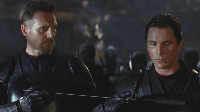 Batman:Начало Выбор. Брюс Уэйн уничтожает логово Лиги Теней