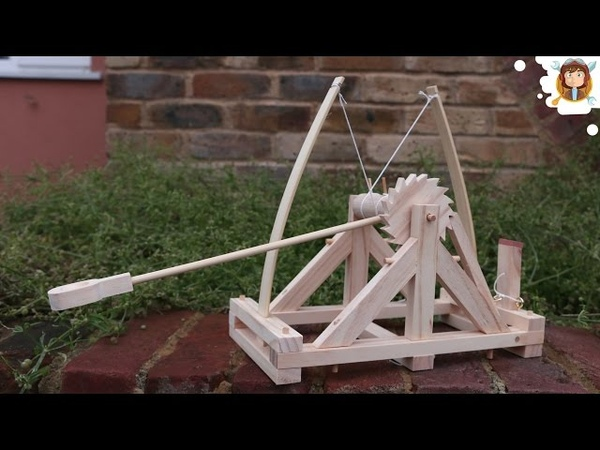 Da Vinci Catapult Wooden Toy