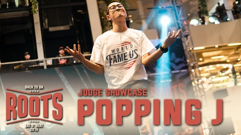 Popping J (KOR) | Judge Showcase | Eat D Beat 2018 Bandung, Indonesia | RPProds