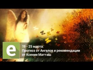 С 19 по 25 марта - прогноз на неделю на картах Таро от Ангелов и эксперта Ксении Матташ