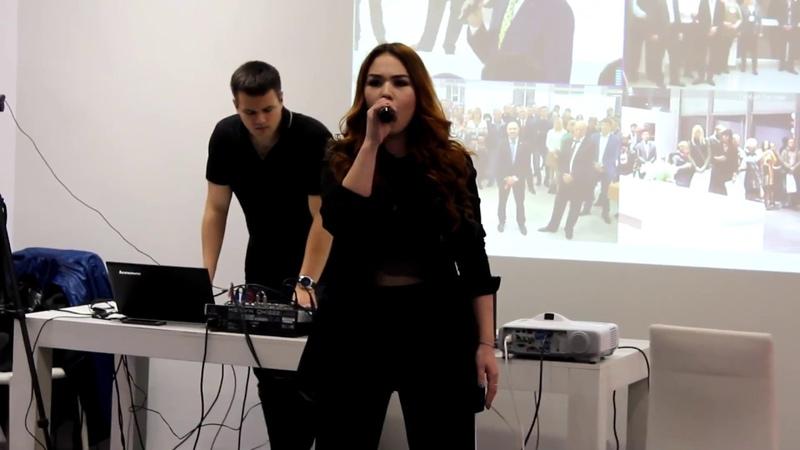 Сабина Браун на презентации Geely Emgrang 7 26 09 2018 г Автоцентр ЛЕОН в г Йошкар Ола