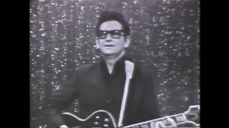 Roy Orbison Oh Pretty Woman American Bandstand June 5 1965