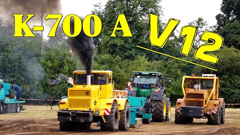 😱 V12 TURBO ✧ K 700 A 18t Full Class LÜTZOW 2018 Trecker Treck любимый треккер