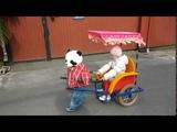 Робот рикша обновленный с детской музыкой и учетом выездов для проката
