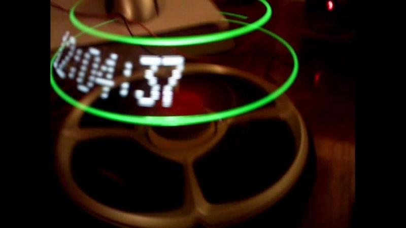 Propeller clock 6