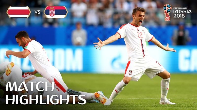 Costa Rica v Serbia - 2018 FIFA World Cup Russia™ - Match 10