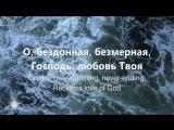 Бездонная любовьReckless love-Cory AsburyДоценко Наталья Краеугольный Камень,Новосибирск