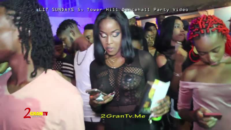 Lit Sundays 5, Tower Hill Kingston Jamaica, Dancehall Party Videos 2018