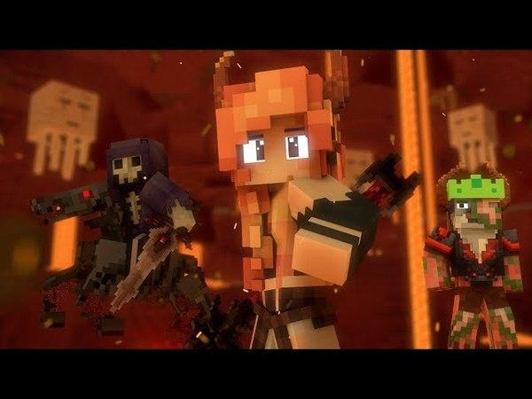 Begin Again - A Minecraft Original Music Video ♪