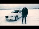 тест Jaguar XF S дрифт Никиты Шикова в Тушино