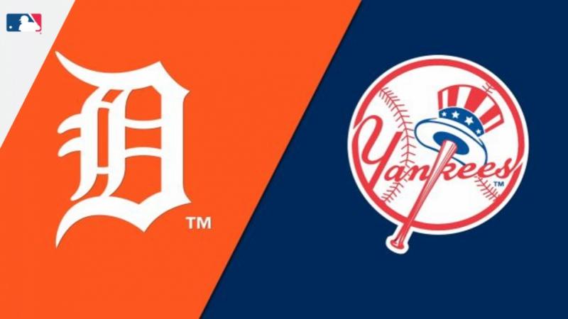 AL / 31.08.18 / DET Tigers @ NY Yankees (2/4)
