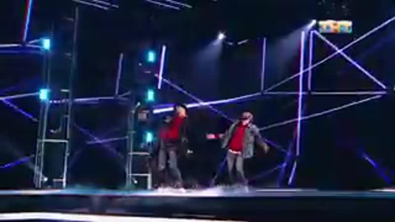 Кубик Льда танец под трек в эфире ТНТ