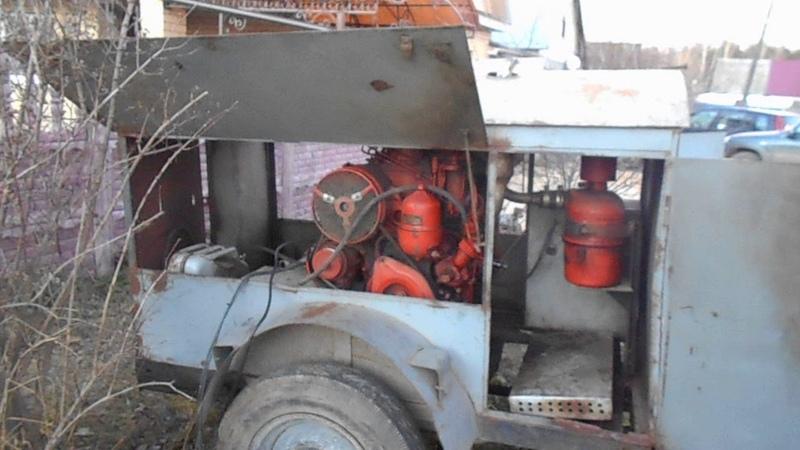 САГ т25, дизель-генератор