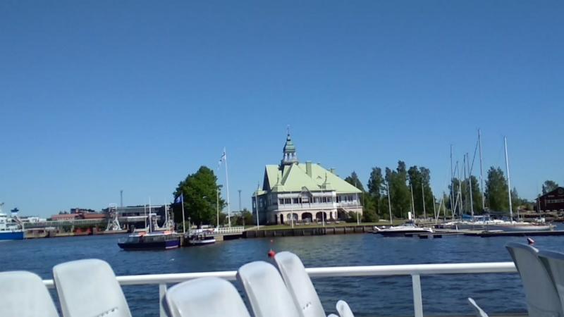 🛳 Водное путешествие по Хельсинки