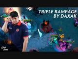 Triple rampage by Daxak