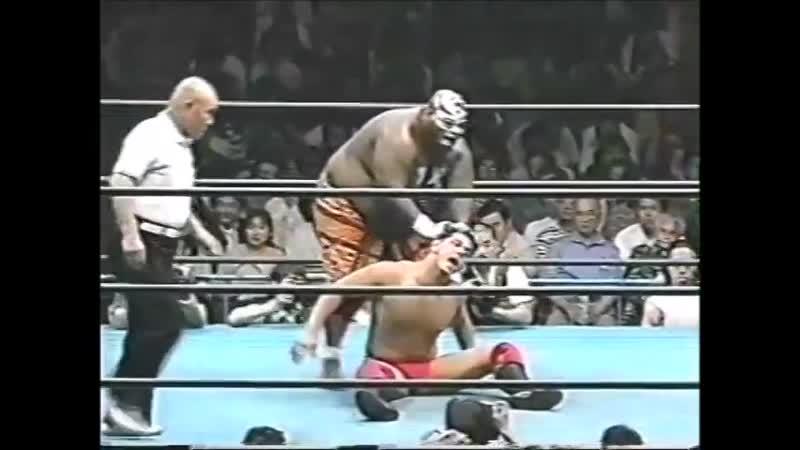1996.06.07 - Gary Albright/Giant Kimala II vs. Kenta Kobashi/Maunakea Mossman [JIP]