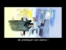 The Little Pianist Learn French with Subtitles Story for Children