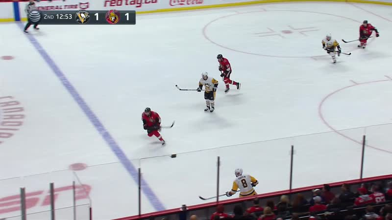 NHL 18/19, RS, Pittsburgh Penguins - Ottawa Senators [08.12.2018, ATT]