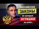 Самые ШОКИРУЮЩИЕ законы России о которых точно не расскажут по телевизору