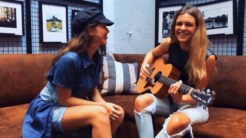 Sofía Reyes в Instagram: «Dos Sofías improvisando un poco de 1,2,3 💡🇦🇷☝🏽✌🏽🤟🏽 @chulevonwernich que padre conocerte finalmente!! Ya no somos amigas v...