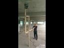 Гениально простое приспособление для сверления потолка