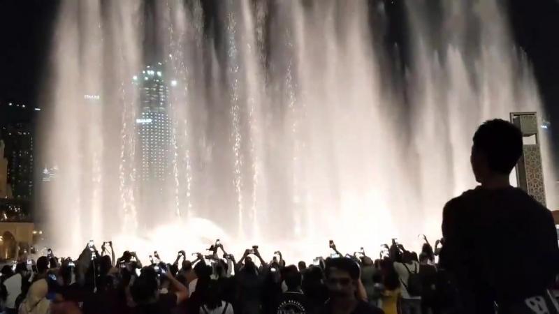 180714 Dubai Fountain Show