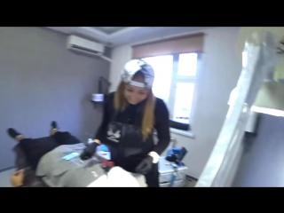 [PeReC - KLygeR] ПИРСИНГ + ТАТУ НА ЛИЦЕ   ПРАНК   СДЕЛАЛИ ФРИКОМ