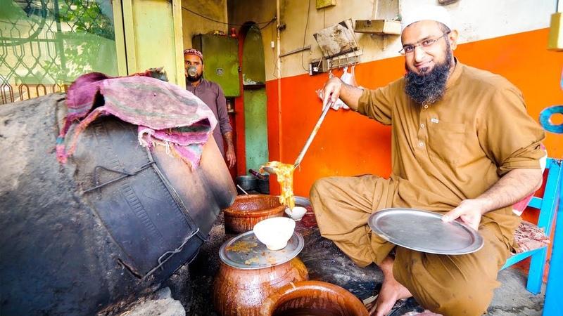 Street Food in Peshawar - AMAZING PAYA CHARSI TIKKA | Pakistani Food Tour!