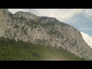 Большая канатная дорога на Ай-Петри