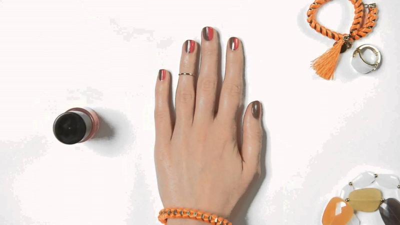 Видеоурок ногти в шахматном тренде