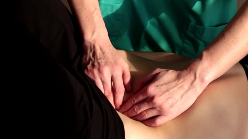 Висцеральный массаж живота. Ирина Берсенева - член ассоциации висцеральной хиропрактики